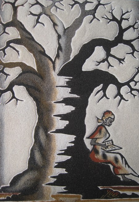 Lectrice sous le baobab 3.jpg